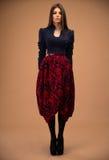 Beautiful woman in fashion wear Royalty Free Stock Photo