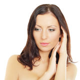 Beautiful woman -  female face Stock Image