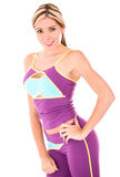 Beautiful woman in fitness clothes Stock Photo