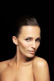 Beautiful woman with flawless skin Stock Photography