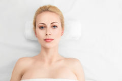 Beautiful woman getting spa Royalty Free Stock Photos