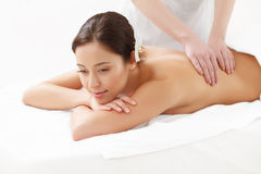 Beautiful Woman Getting Spa Treatment. Stock Photography