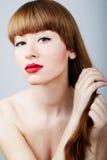 Beautiful woman glamour portrait Royalty Free Stock Photography