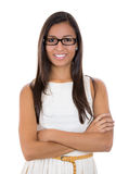 Beautiful woman with glasses Stock Image
