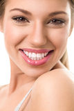 Beautiful woman with great smile royalty free stock image