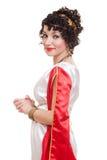 Beautiful woman greek styled Royalty Free Stock Photography