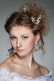 Beautiful woman with haircut Stock Photo