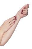 Beautiful woman hand Stock Image