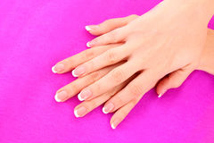 Beautiful woman hands Royalty Free Stock Photography