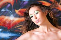 Beautiful woman headshot Royalty Free Stock Photo