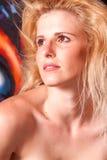 Beautiful woman headshot Royalty Free Stock Image