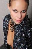 Beautiful woman headshot Royalty Free Stock Images