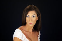 Beautiful Woman, Headshot (3) Royalty Free Stock Photos