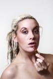 Beautiful woman headshots Royalty Free Stock Image