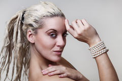 Beautiful woman headshots Royalty Free Stock Photo