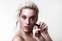 Beautiful woman headshots Stock Image