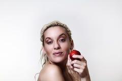 Beautiful woman headshots Stock Photo