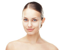 Beautiful woman with healthy clean skin Royalty Free Stock Image