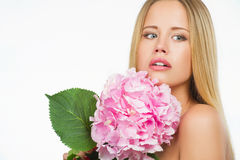 Beautiful woman with healthy skin Royalty Free Stock Images