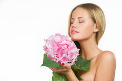 Beautiful woman with healthy skin Stock Image