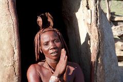Himba Tribe Woman Royalty Free Stock Photography