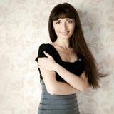 Beautiful Woman. Jewelry And Beauty Stock Photo