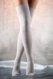 Beautiful woman legs Stock Photo