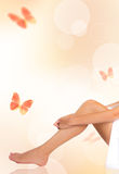 Beautiful woman legs Stock Photography