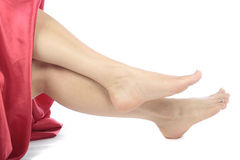 Beautiful woman legs and feet Royalty Free Stock Photography