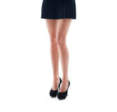 Beautiful woman legs Royalty Free Stock Photos