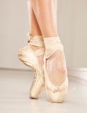Beautiful woman legs with tiptoe Royalty Free Stock Photo