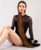 Beautiful Woman in Leotard stock photos