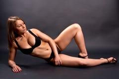 Beautiful woman in lingerie Stock Photo