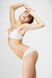 Beautiful woman in lingerie Stock Images