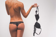 Beautiful woman in lingerie Stock Photos