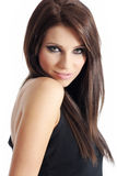 Beautiful woman with long hair. Stock Photography