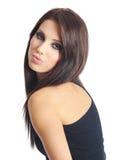 Beautiful woman with long hair. Royalty Free Stock Photos