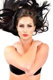 Beautiful woman with long hair Royalty Free Stock Photos