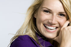 Beautiful woman with a lovely smile Royalty Free Stock Photo