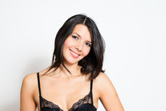 Beautiful woman with a lovely smile Stock Images