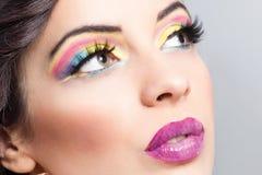 Beautiful woman make up Royalty Free Stock Photography