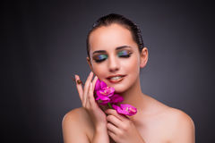 The beautiful woman in make up concept Royalty Free Stock Photo