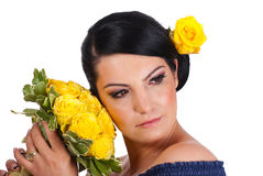 Beautiful woman makeup Royalty Free Stock Photography