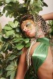 Beautiful woman in makeup Royalty Free Stock Photos