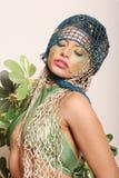 Beautiful woman in makeup Royalty Free Stock Photo