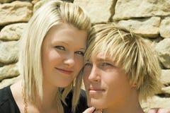 Beautiful woman and man. Royalty Free Stock Photos