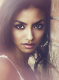 Beautiful woman mixed ethnicity Stock Images