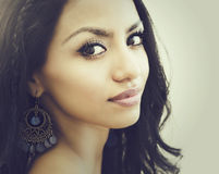 Beautiful woman mixed ethnicity Royalty Free Stock Photos