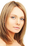 Beautiful woman with natural makeup Royalty Free Stock Photography