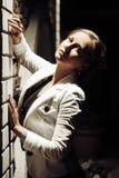Beautiful woman in the night Stock Photos